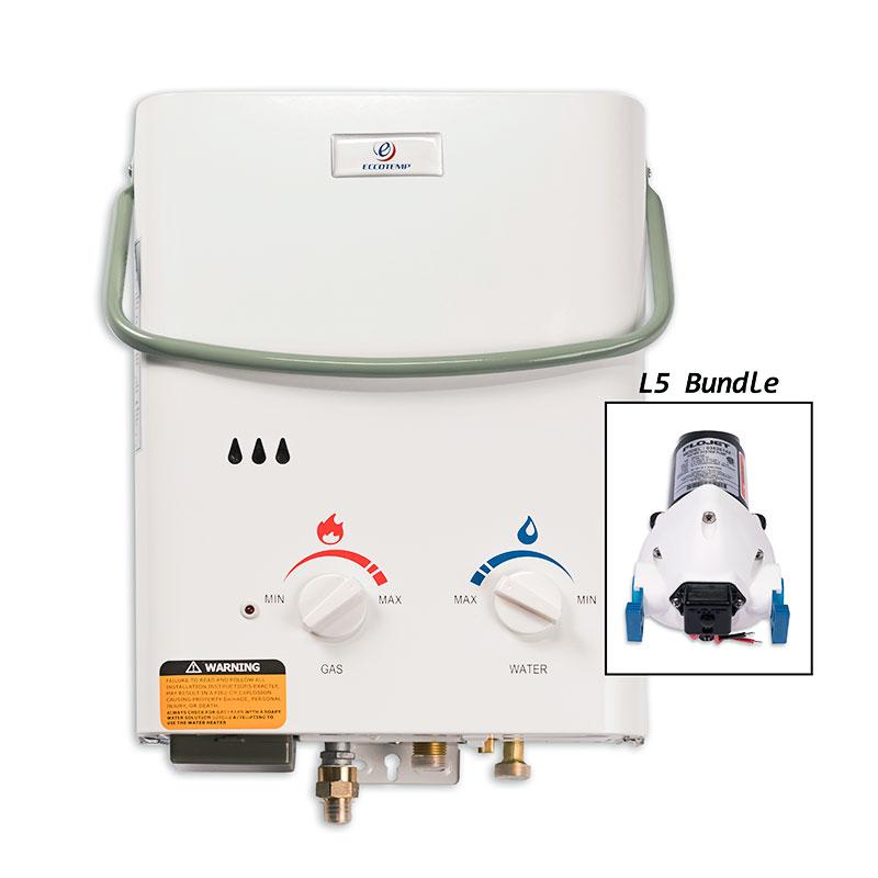kit chauffe eau instantan eccotemp l5 pompe 12v nuenergy distribution. Black Bedroom Furniture Sets. Home Design Ideas