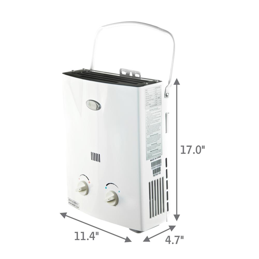 chauffe eau gaz sans r servoir marey 5l 1 4 gpm 35 000 btu nuenergy distribution. Black Bedroom Furniture Sets. Home Design Ideas