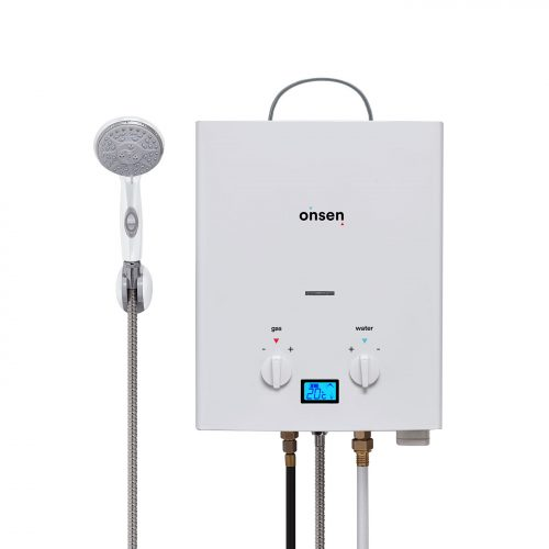 Portable Tankless Water Heaters (Gas)